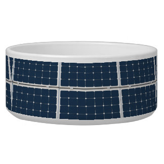 Solar Cell Panel Dog Food Bowls