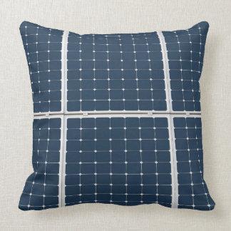 Solar Cell Panel Throw Pillow