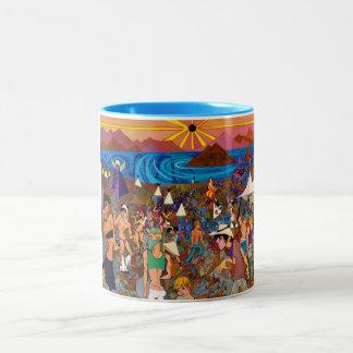 Solar Eclipse 2012 Two-Tone Coffee Mug