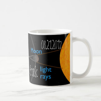 Solar Eclipse 2017 Drunk Moon Mug