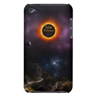 Solar Eclipse 2017 Nebula Bloom Barely There iPod Cases