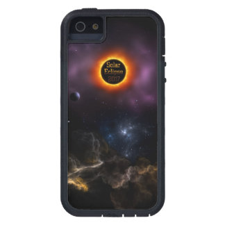 Solar Eclipse 2017 Nebula Bloom iPhone 5 Cover
