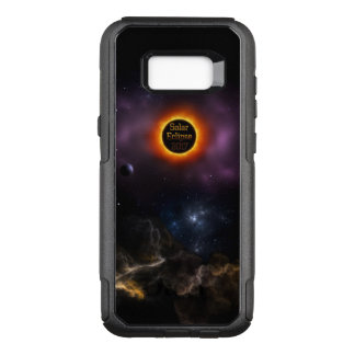 Solar Eclipse 2017 Nebula Bloom OtterBox Commuter Samsung Galaxy S8+ Case