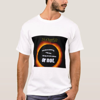 Solar Eclipse 2017 Or Not Men's T-shirt