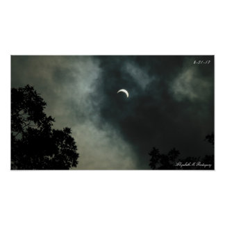 solar eclipse 2017 poster