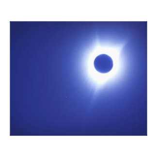 Solar Eclipse 2017 Totality Canvas Print