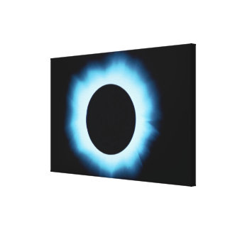 Solar eclipse 2 canvas print