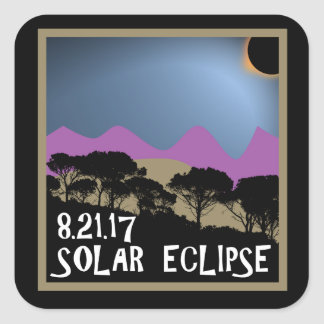 Solar Eclipse 8.21.17 Sticker