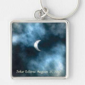 Solar Eclipse August 21, 2017 Key Ring