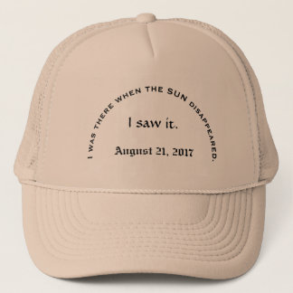 Solar eclipse August 21, 2017 Trucker Hat