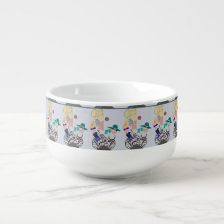 """Solar Eclipse"" Bowl  by MAR from Thleudron Soup Mug"
