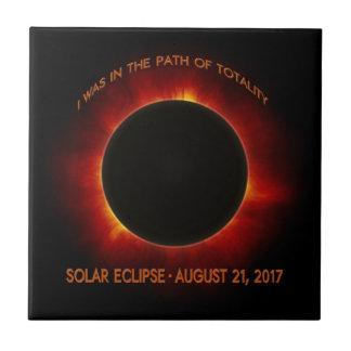 Solar Eclipse Ceramic Tile