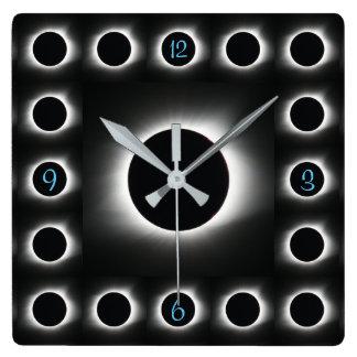 Solar eclipse clock