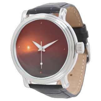 Solar Eclipse Clock Watch