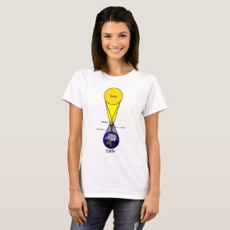 Solar Eclipse Diagram T-Shirt