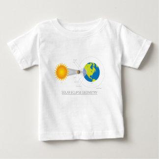 Solar Eclipse Geometry Illustration Baby T-Shirt