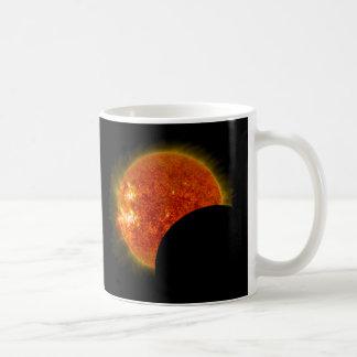 Solar Eclipse in Progress Coffee Mug