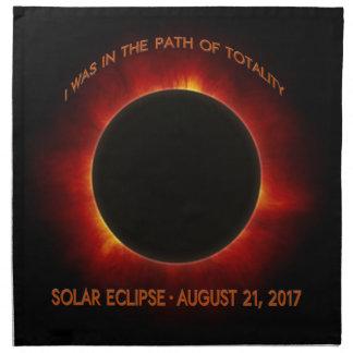 Solar Eclipse Napkin