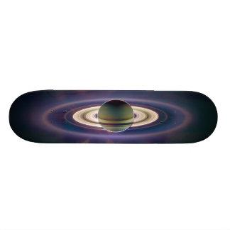 Solar Eclipse Of Saturn from Cassini Spacecraft 20 Cm Skateboard Deck
