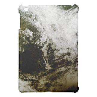 Solar eclipse over southeast Asia iPad Mini Cover