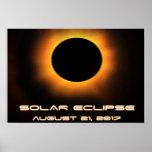Solar Eclipse Poster