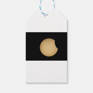 solar eclipse, sun, moon, science, phenomenon, pla gift tags