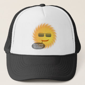 Solar Eclipse Trucker Hat