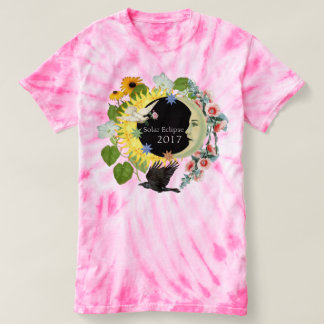 Solar Eclipse Womens Customizable TieDye TShirt