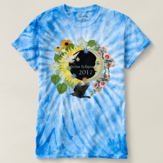 Solar Eclipse Women's TieDye TShirt / Customizable