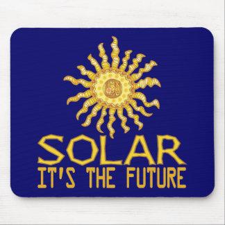 Solar Energy Future Mouse Pad