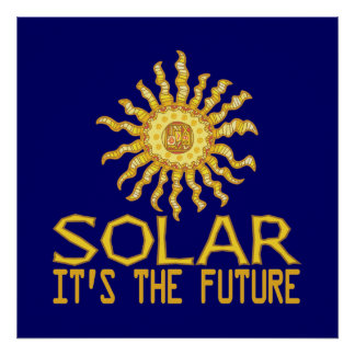 Solar Energy Future Poster