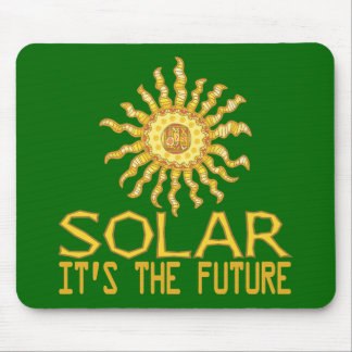Solar Energy Mouse Pads