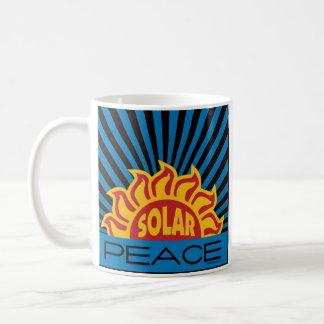 Solar Energy, Peace Basic White Mug