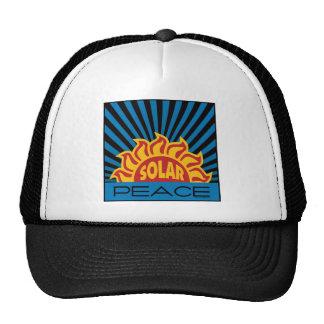Solar Energy, Peace Cap