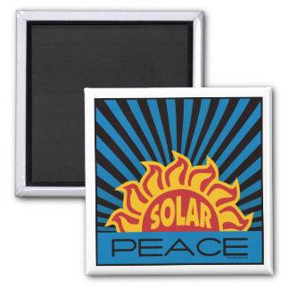 Solar Energy, Peace Square Magnet
