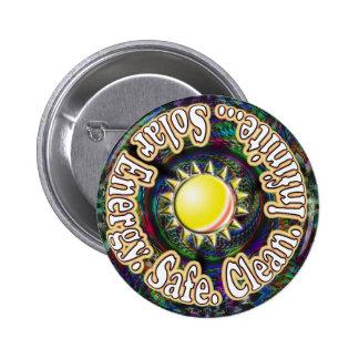 Solar Energy Safe Clean Infinite button