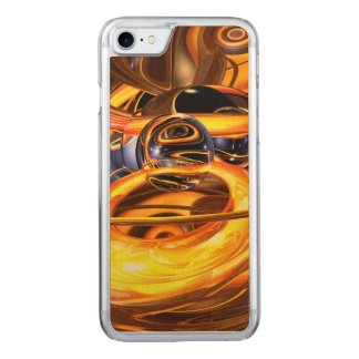 Solar Flare Abstract Carved iPhone 7 Case