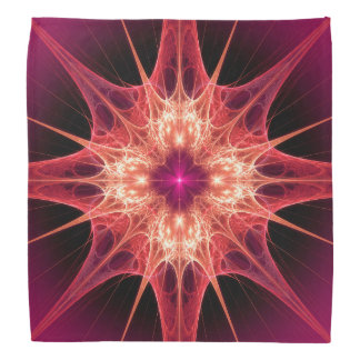 Solar Flare Fractal Art Bandana