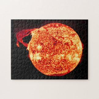 Solar Flare - Photo Taken From Skylab Jigsaw Puzzle