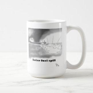 Solar fuel spill classic white coffee mug
