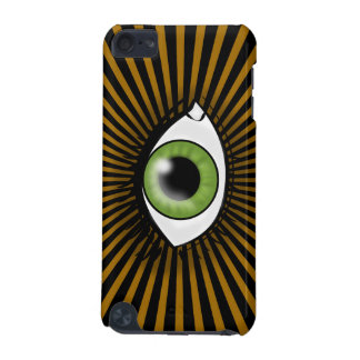 Solar Green Eye iPod Touch (5th Generation) Cases