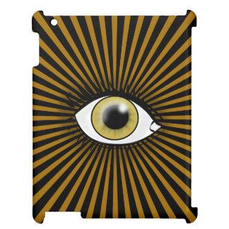 Solar Hazel Eye Cover For The iPad