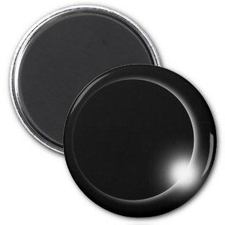 Solar l Lunar Eclipse Round Magnet
