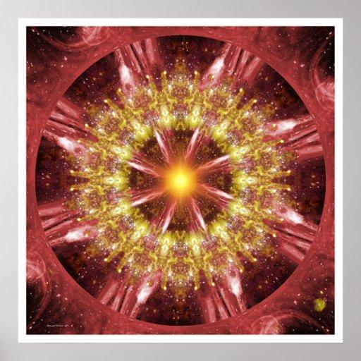 Solar Mandala 12 Poster
