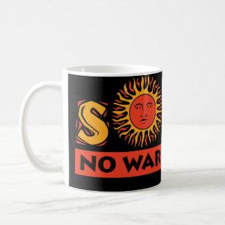 Solar - No War Required Basic White Mug