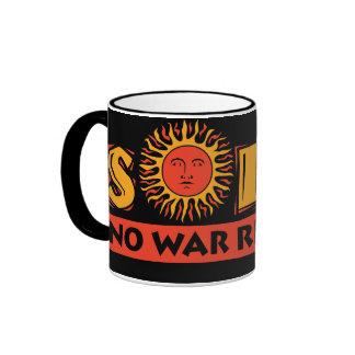 Solar - No War Required Ringer Mug