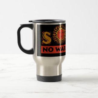 Solar - No War Required Stainless Steel Travel Mug