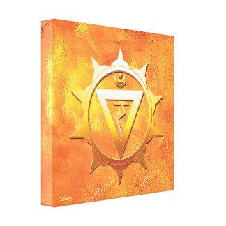 Solar Plexus Chakra Canvas