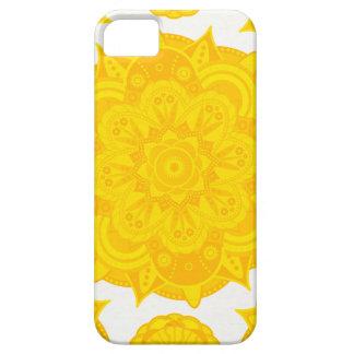 Solar Plexus Chakra Mandala iPhone 5 Covers