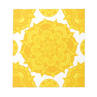Solar Plexus Chakra Mandala Notepads